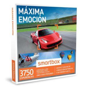 la imagen muestra la caja smartbox máxima emoción