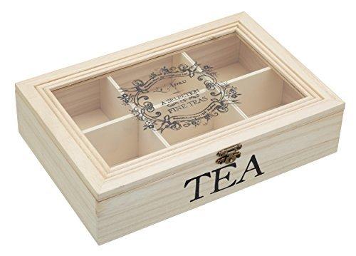 Se muestra una imagen de Caja de té