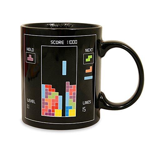 Se muestra una imagen de Taza de Tetris