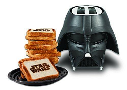 Se muestra una imagen de Tostadora de Star Wars - Darth Vader