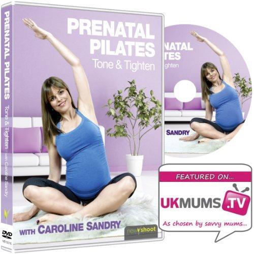 Se muestra una imagen de DVD Ejercicios para embarazadas
