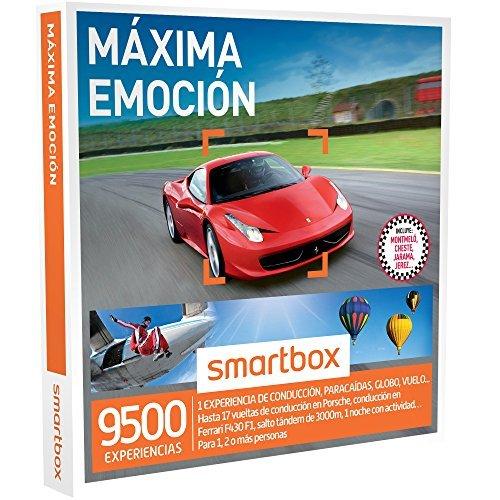 Se muestra una imagen de Smartbox Máxima Emoción