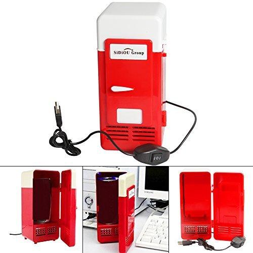 Se muestra una imagen de Mini frigo USB