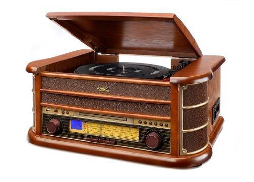 Se muestra una imagen de Tocadiscos vintage