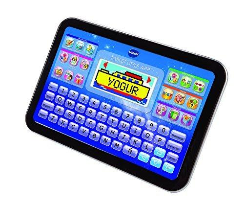 Se muestra una imagen de Tablet educativa