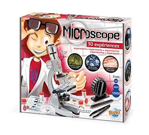 Se muestra una imagen de Microscopio de juguete
