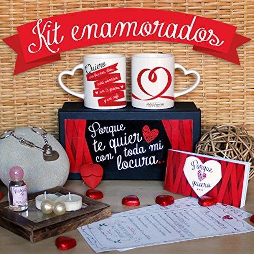 Se muestra una imagen de Kit para enamorados