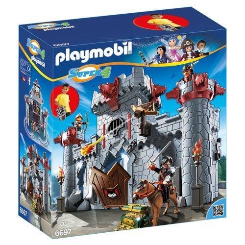 Se muestra una imagen de Playmobil-Castillo del Barón Negro